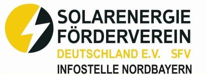 Solarenergie-Förderverein Deutschland e.V. (SFV) - Infostelle Nordbayern Logo