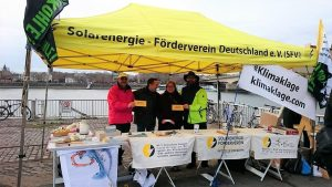 01.12.18 SFV-Infostand: Demo Köln